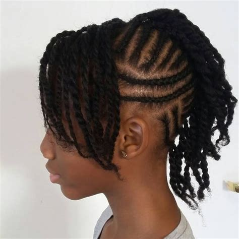 American Braided Mohawk Hairstyles by Mohawk Braid Hairstyles Black Braided Mohawk Hairstyles
