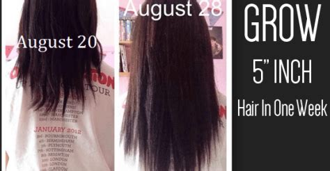 how to grow your hair 3 4 inches in a week how to grow your hair 3 4 inches longer get shiny and