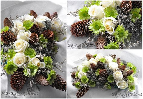 winter decorations floral arrangement ideas for winter