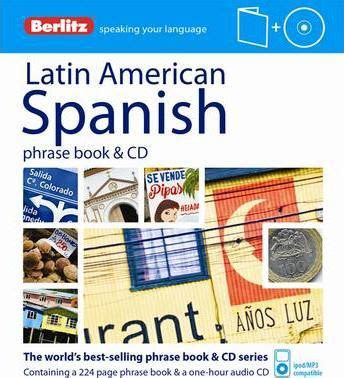 talk spanish 1 book cd 140667897x berlitz language latin american spanish phrase book cd berlitz publishing 9781780042961