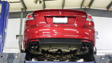 2009 pontiac g8 gt performance exhaust gm authority