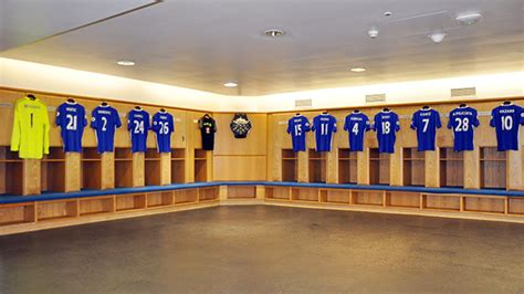 club dressing room stadium tours and museum the club official site chelsea football club