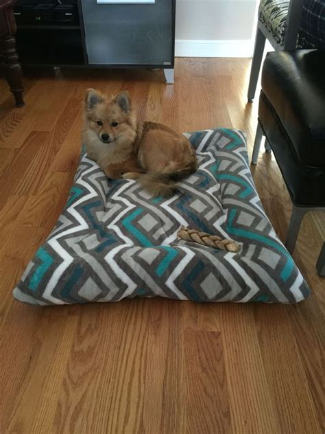 dog pillows and beds diy dog bed with old pillows and 5 walmart blanket pet