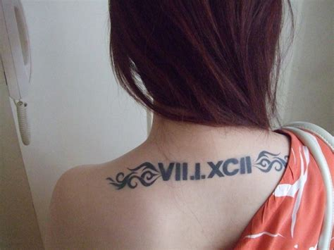 roman numerals tattoo numeral tattoos designs ideas and meaning tattoos