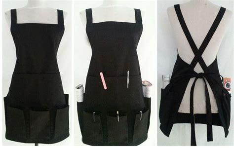 Cheap Hair Stylist Vest by Multi Pocket Apron Fashion Stylist More Makeup Hairdresser