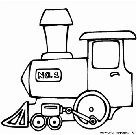 number train coloring page number one train c509 coloring pages printable