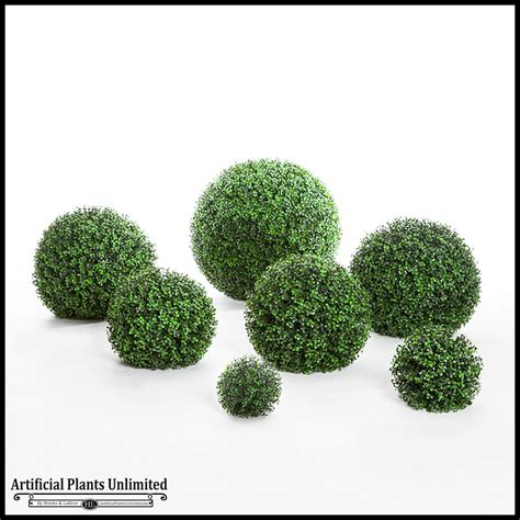topiary boxwood balls silk boxwood balls boxwood hedge sphere artificial