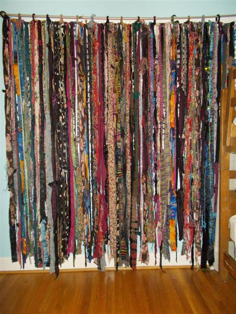 shower curtain room divider best 25 fabric yarn ideas on pinterest rag rugs making