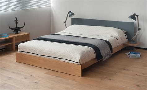 bed with low headboard koo low wooden bed painted bed natural bed company