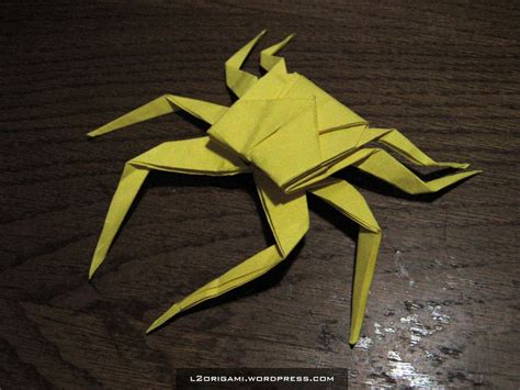 Crab Origami - the world s catalog of ideas