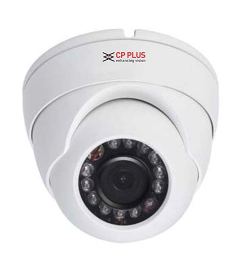 Cctv Cp Plus cp plus d1000l2a 1mp 12 ir hdcvi dome white price in india buy cp plus d1000l2a 1mp