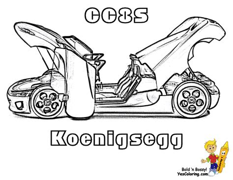 Cool Cars Coloring Page R Koenigsegg Car Interior Design Koenigsegg Agera R Coloring Pages