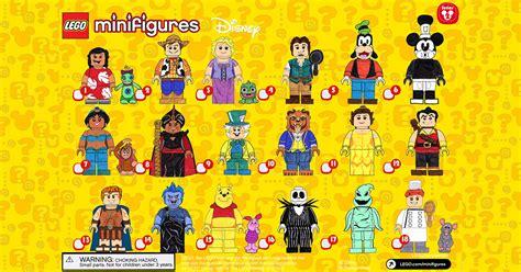 Minifigure The Disney Series lego disney minifigure series 2 rumor heetnet