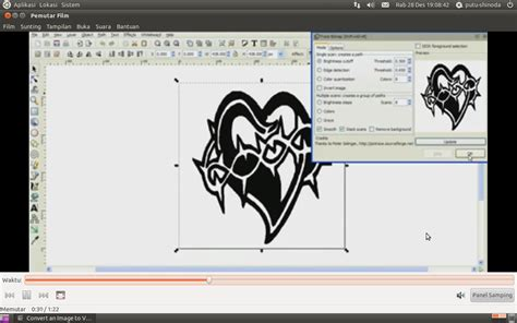 tutorial menggunakan inkscape 3 dvd video panduan inkscape catatan bytescode