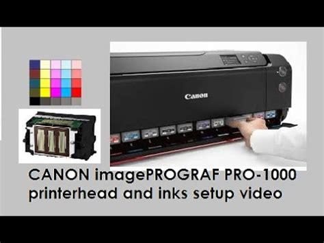 Harga Canon Imageprograf Pro 1000 by Canon Imageprograf Pro 1000 Part3 Setup Printer