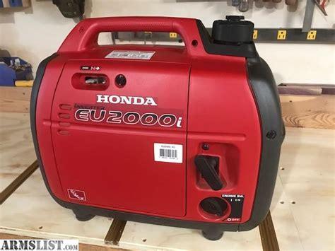 Honda Eu2000i Sale by Armslist For Sale Trade Honda Eu2000i Inverter Generator