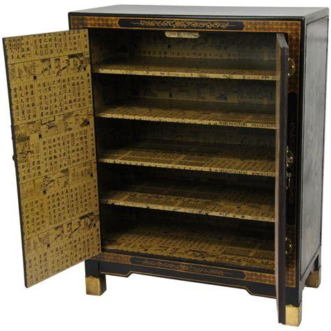 oriental furniture black lacquer cabinet oriental furniture black lacquer nestling birds cabinet