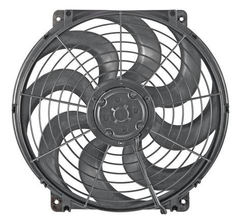 pusher fan vs puller fan flex a lite 39424 trimline s blade electric fan 14