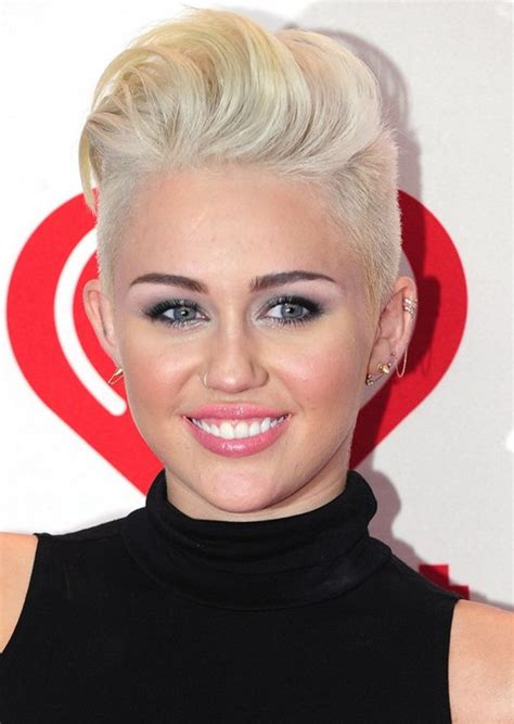 how to style miley cyrus hairstyle miley cyrus hairstyles platinum short haircut pretty