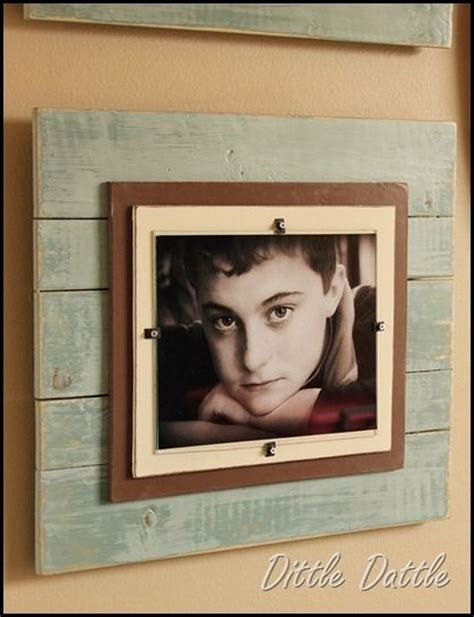 Simple Handmade Photo Frames - 16 diy ideas for styling the photo frames pretty designs