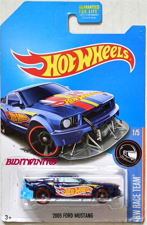 Hotwheels Wheels Tooligan Treasure Hunts Diskon wheels 2017 treasure hunt 2005 ford mustang blue