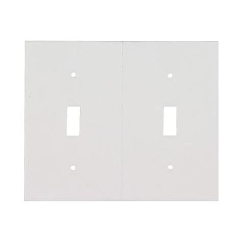 home depot light switch plates md building products light switch plate sealers white bulk