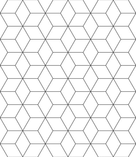 printable tessellations hexagon pictures to pin on free tessellation patterns to print block tessellation