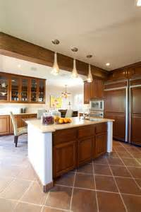 Kitchen Designs For Split Level Homes I Have A 50 S Split Level House The Kitchen Area Is About