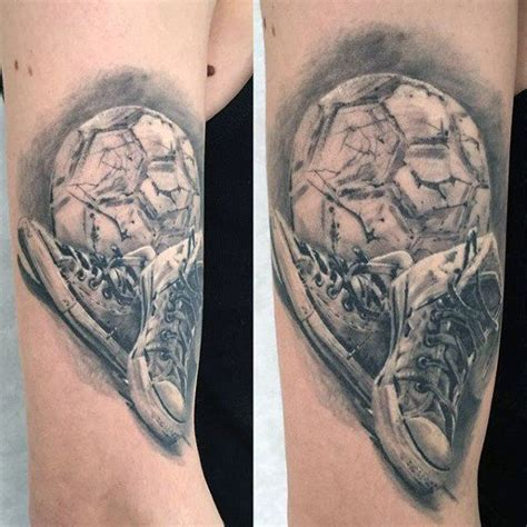 small soccer tattoos 90 soccer tattoos for sporting ink design ideas