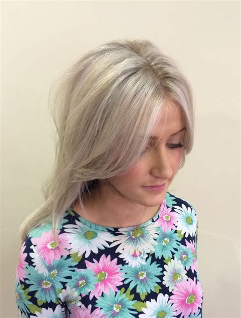 silver blonde color hair toner platinum blonde ash blonde grey blonde toner highlights