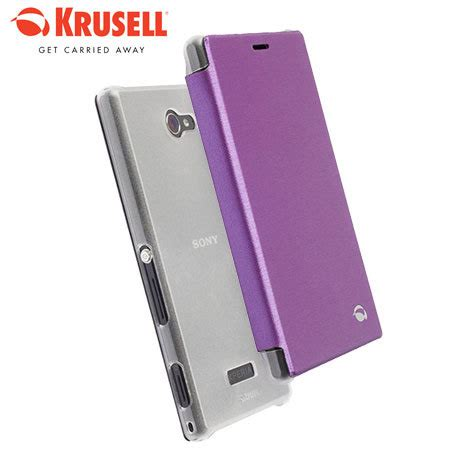 Casing Krusell For Sony Xperia M krusell boden sony xperia m2 flipcover purple reviews