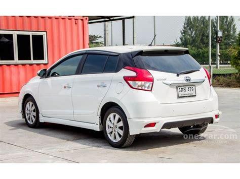 2015 Toyota Yaris G A T toyota yaris 2015 g 1 2 in กร งเทพและปร มณฑล automatic