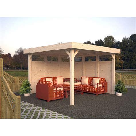 holz pavillon kaufen palmako holz pavillon 230 cm x 349 cm x 349 cm kaufen