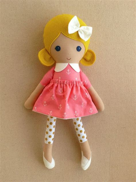 rag doll fabric reserved for fabric doll rag doll blond by