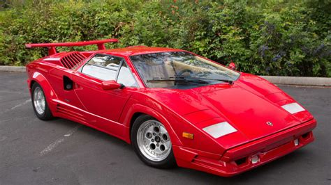 automobile air conditioning repair 1986 lamborghini countach auto manual 1989 lamborghini countach 25th anniversary s164 monterey 2016