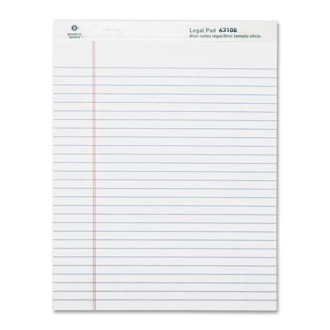 writing pad paper business source ruled writing pads hogland office