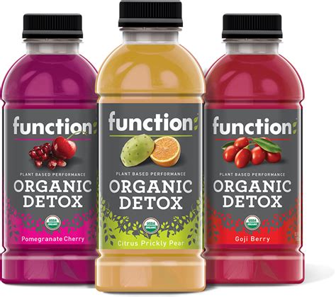 Detox Beverage Products by Function Drinks