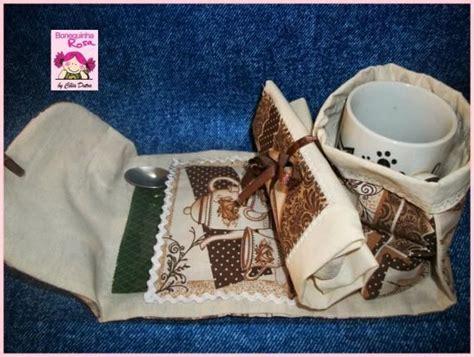 Mug Bags Patchwork Pattern - mug bag bolsa porta caneca toalhinha e envelopes de ch 193