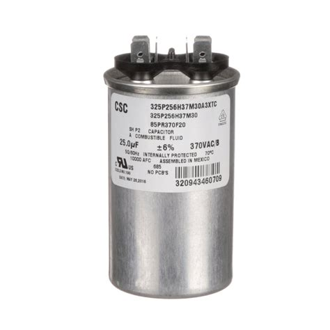 bst capacitor crathco w0570617 run capacitor