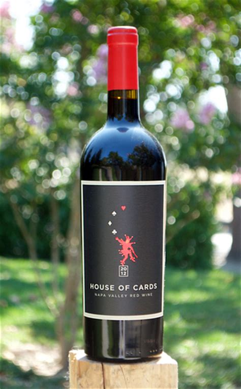 house of cards winery house of cards 2012 napa valley red wine the wine spies