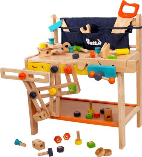 wooden tool bench for toddlers woodpal rakuten global market voila boiler workbench