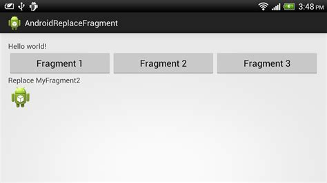 layout xml fragment android er replace fragment