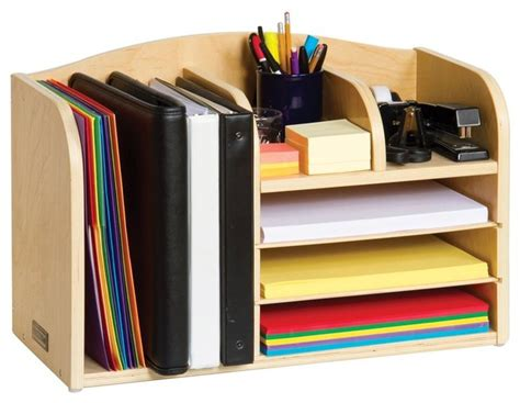 Desk Storage Accessories Guidecraft Desk Organizer View In Your Room Houzz