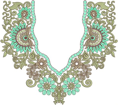 design embroidery online embroidery neck design