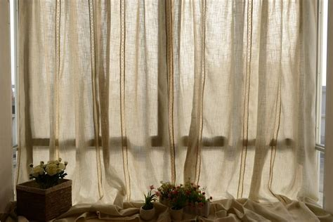 lace curtains canada french country style cotton linen cotton crochet lace