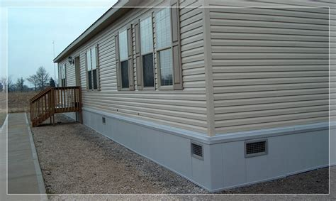 rustique rapid wall foundation systems mobile home