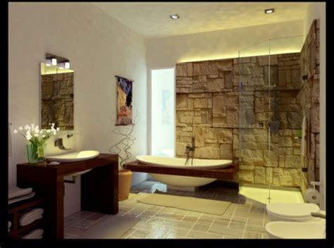 designer badezimmer interessantes badezimmer design alles im bad aus rauem stein