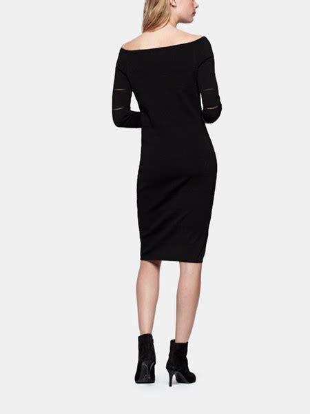 cos jurken zwart nette jurk zwart costes fashion