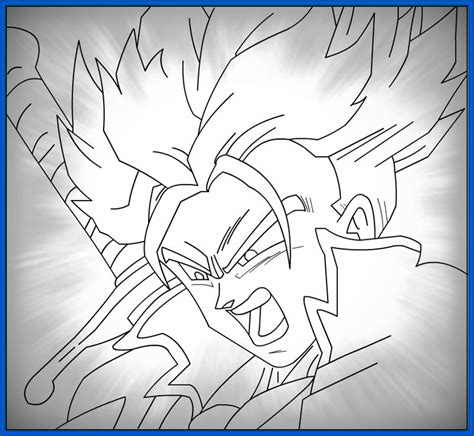 imagenes abstractas sin color imagenes sin color de dragon ball z archivos dibujos de