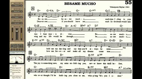 testo besame mucho besame mucho playalong for cornet trumpet vocal or any bb